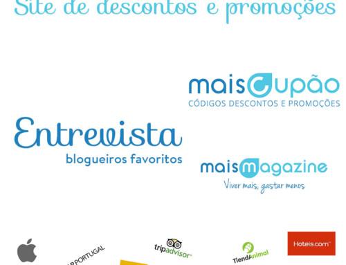 MaisCupão – Loja de Descontos Online + Entrevista à Veggitable